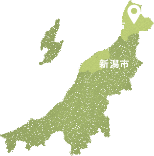 新潟県村上市高根集落